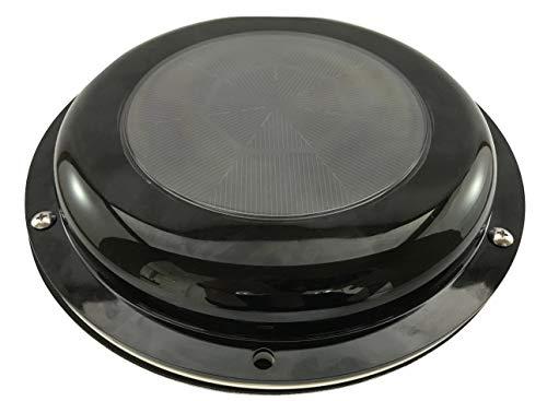 Solar ventilation fan with battery for boat, yacht/1400 cu.ft./hr/black ()