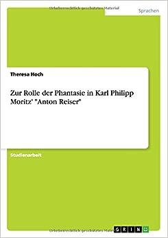 Book Zur Rolle der Phantasie in Karl Philipp Moritz'
