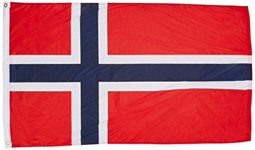 US Flag Store Norway flag 3ft x 5ft Superknit - Store Norway