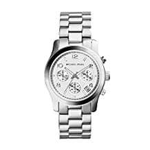 Michael Kors Women's MK5076 Silver Runway Watch