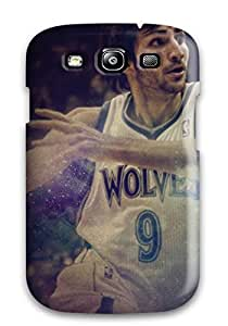 Awesome NACynKi2030lTYNX DanRobertse Defender Tpu Hard Case Cover For Galaxy S3- Minnesota Timberwolves Nba Basketball (27)