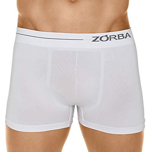 Cueca Boxer Microfibra Side,Zorba,Masculino,Branco,GG