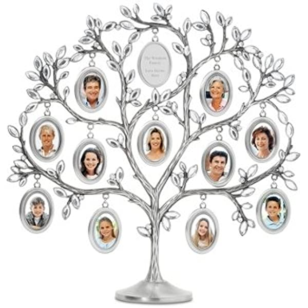 Amazon Com Things Remembered Personalized Jeweled Family Tree 11 Picture Frame With Engraving Included