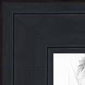 Amazon.com - ArtToFrames 13x16 inch Satin Black Picture Frame ...