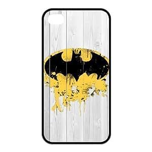 Case for iPhone 4s,Cover for iPhone 4s,Case for iPhone 4,Hard Case for iPhone 4s,Cover for iPhone 4,Batman Design TPU Hard Case for Apple iPhone 4 4S
