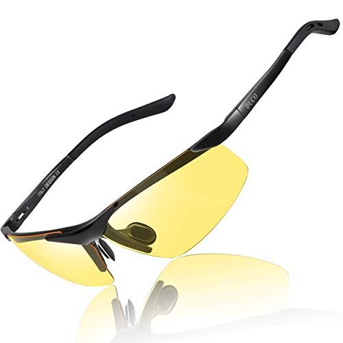 Duco 8125 Night Vision Headlight Polarized Driving Glasses
