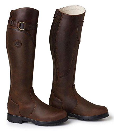 MTN Horse Spring River High Rider Boot 10 Brown by Mountain Horse
