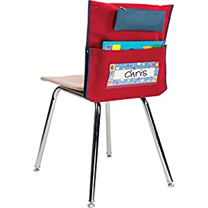 Amazoncom Classroom Chair Pockets with Pencil Pouch Burgundy