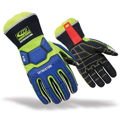 Ringers Gloves R-33 Extrication Gloves, Cut-Resistant Gloves with KevLoc Grip, Medium