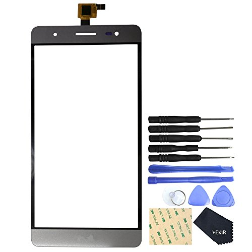 Replacement Part Glass Screen With Touch Flex Cable Compatible with BLU Energy x plus(Gray)VEKIR Retail (Touch Part)