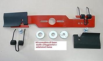 Cuchilla Cortacésped y aireador 2 en 1 casquillo universal