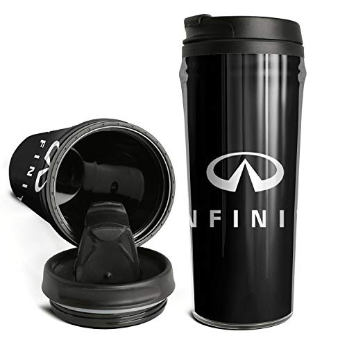Cute Novelty Coffee Cup Infiniti-dealer-near-me-logo- Style Double Wall Insulated Thermal Coffee Mugs Travel for Men Women 16.9 Oz