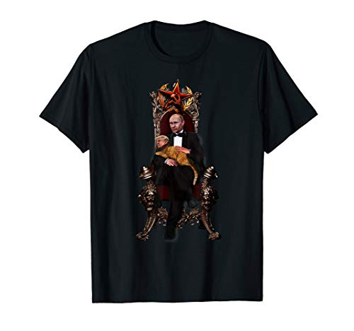 Putins Pet Trump Funny Anti-Trump Putin Russian T-shirt