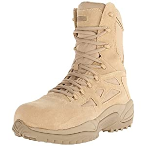 Reebok Work Men's Rapid Response RB8894 Safety Boot,Tan,10 M US