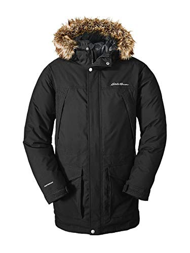 Mcmurdo Down Parka - Eddie Bauer Men's Superior Down Parka, Black Regular XL