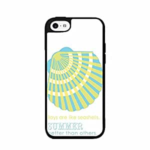 Boys Are Like Shells Plastic Phone Case Back Cover iPhone 5 5s
