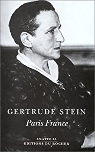 Paris France par Gertrude Stein