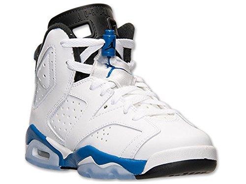 Jordan Bg Blauw Retro wit Blauw Junior Nike zwart 6 Sport Wit Air Zwart UqwfEX
