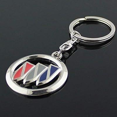 YSKXL Buick Logo Keychain 3D Metal Key Ring: Automotive