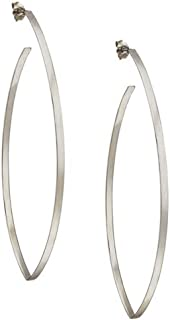 product image for Lana Jewelry- Small Blake White Gold Earrings