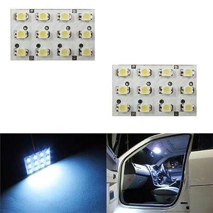 Amazon.com: IJDMTOY 12 SMD LED Interior Map Dome Panel Lights, Xenon White:  Automotive