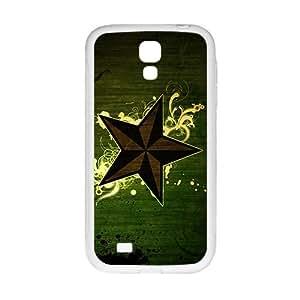 DAZHAHUI Duck Green Star Custom Protective Hard Phone Cae For Samsung Galaxy S4