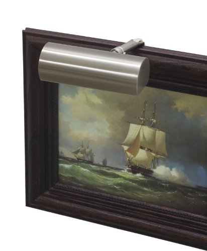 Classic Contemporary Picture Light Size/Finish: 5''/Satin Nickel