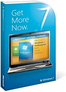 Amazon com: Microsoft Windows 7 Professional Upgrade [Old