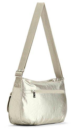 Syro Kipling Women's purse Women's Syro Silver purse Kipling Silver Beige Silver Silver qT0xn4f