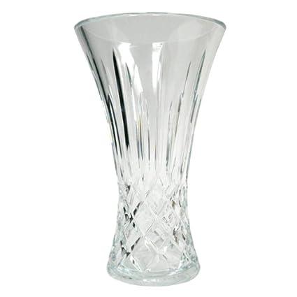 Amazon Block Crystal Olympic 9 Inch Flair Vase Decorative