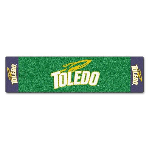 Toledo Rockets Car Mats (FANMATS NCAA University of Toledo Rockets Nylon Face Putting Green Mat)