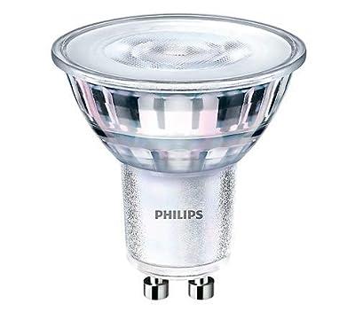 Philips Lighting 468140 GU10 LED Lamp 4.5 Watt GU10 Base 400 Lumens 80 CRI 3000K White