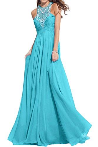 Missdressy - Vestido - trapecio - para mujer Blu ghiaccio