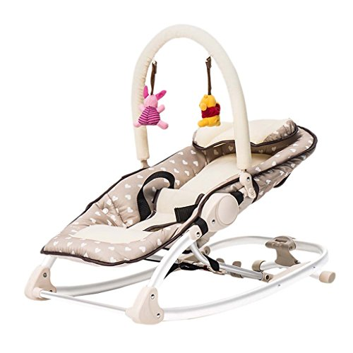 Baby Bouncer - Baby Swing Chair And Cradle Baby Chair The Children's Bouncing Cradle Is Suitable For Newborns 0-36 Months