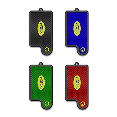 (FLATEYE WINK Mini LED Flashlight - Lightweight, Super Small, Super Bright, Keychain Style Flashlight (4)