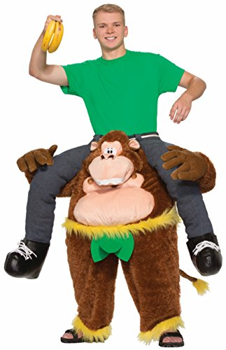 Forum Novelties Men's Monkeyin' Around Costume, Multi, (Piggy Back Ride Costume)