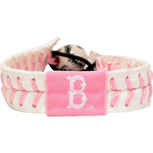 - GameWear MLB Boston Red Sox Pink Baseball Bracelet