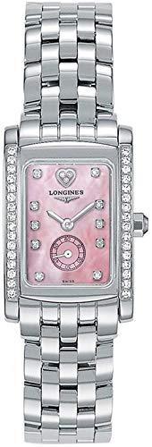 - Longines Dolcevita Pearl Pink & Diamond Dial Women's Watch L5.155.0.93.6