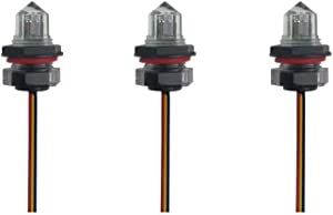 EPTTECH FS-IR1901D Optical Infrared Water Oil Liquid Tank Agriculture Irrigation Level Sensor Switch Food Safety, Come with 500mm Cable(Pack of 3)