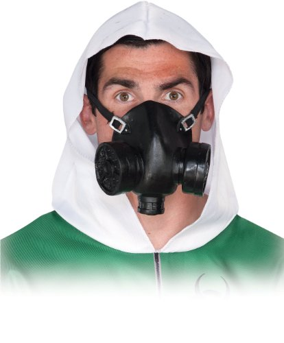 Gas Mask Adult Accessory (Scary Gas Mask Costume)