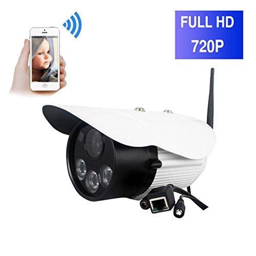 ShengyaoHul 720P HD Outdoor Animale Domestico Del Bambino, 1 Mp Sistemi Di Sicurezza Della Telecamera / Allarme / Lente A Infrarossi / Citofono Vocale Telecamere Di Sorveglianza Per La Casa