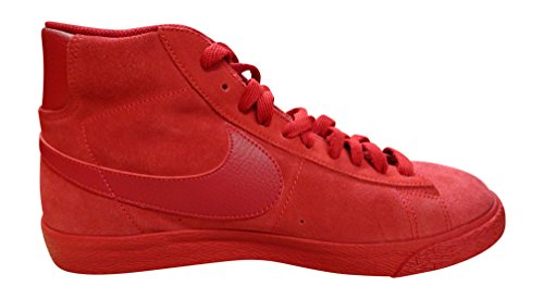 Nike Blazer Mid Prm Vntg, Zapatillas de Baloncesto para Hombre, Azul, Talla Rojo / Marrón (Gym Red / Gym Red-Gm Light Brown)