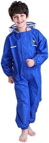 Vine Toddler Rain Suit Baby Rain Suit with Hood Waterproof Coverall One Piece Rain Suit Kids Muddy Buddy