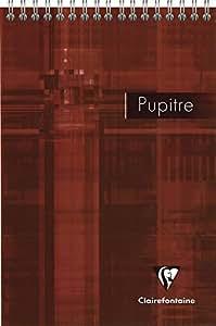 Clairefontaine 8662C - Cuaderno espiral, A5, 160 páginas, surtido: colores aleatorios