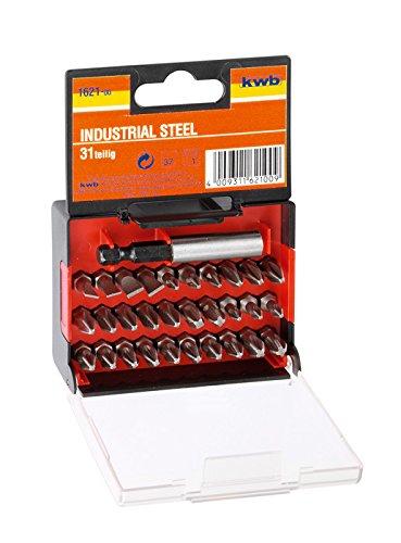 kwb 162200 punta de destornillador 31 pieza(s) - Puntas de ...