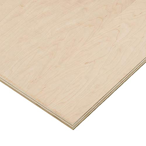 3/4'' (18mm) X 5'' X 7'' Maple Plywood ()