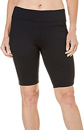 Brisas Womens Bermuda Active Stretch Shorts at Amazon