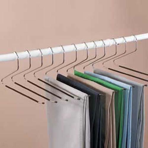 Com 24 Jobar Slacks Hangers Open Ended Pants Easy Slide Organizers Bonus 2 Pack Home Kitchen