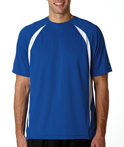White Basketball Wei§er Basketball auf American Apparel Fine Jersey Shirt ATHLETIC ROYAL/WHTIE