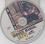 2014 ARCTIC CAT 300 UTILITY/DVX 300 SERVICE MANUAL CD 2259-827 (828)
